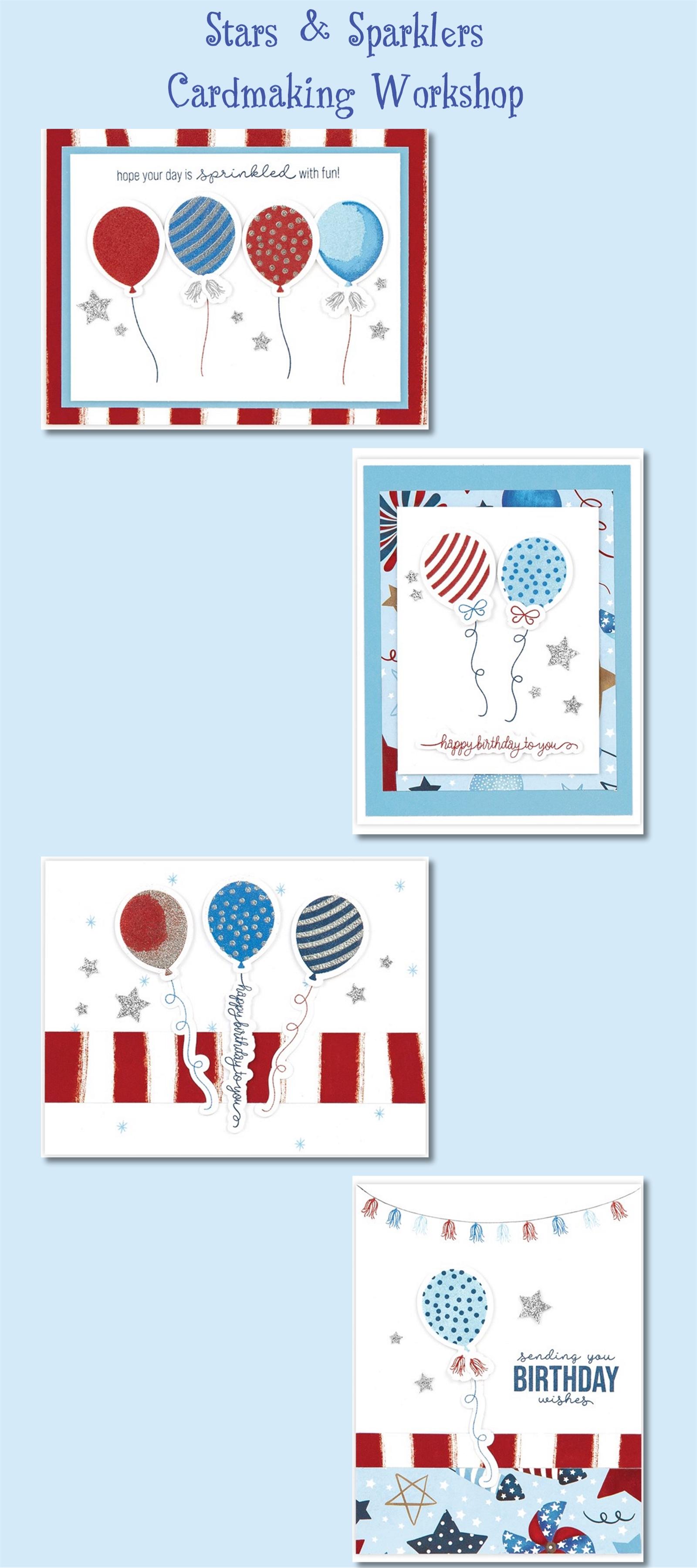 PP2107 Stars & Sparklers Cards