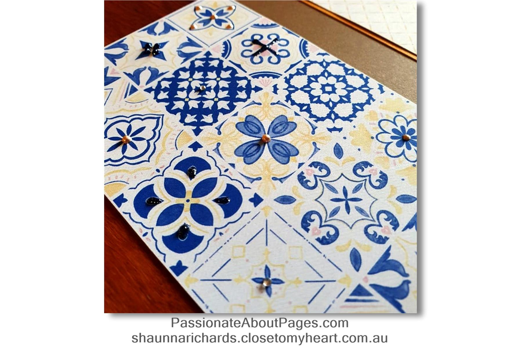 Isabella tile border