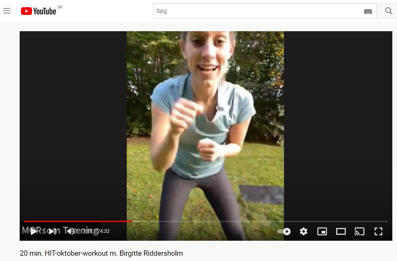 YouTube link til video