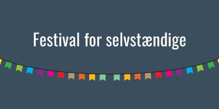 [Banner: Festival for selvstændige]