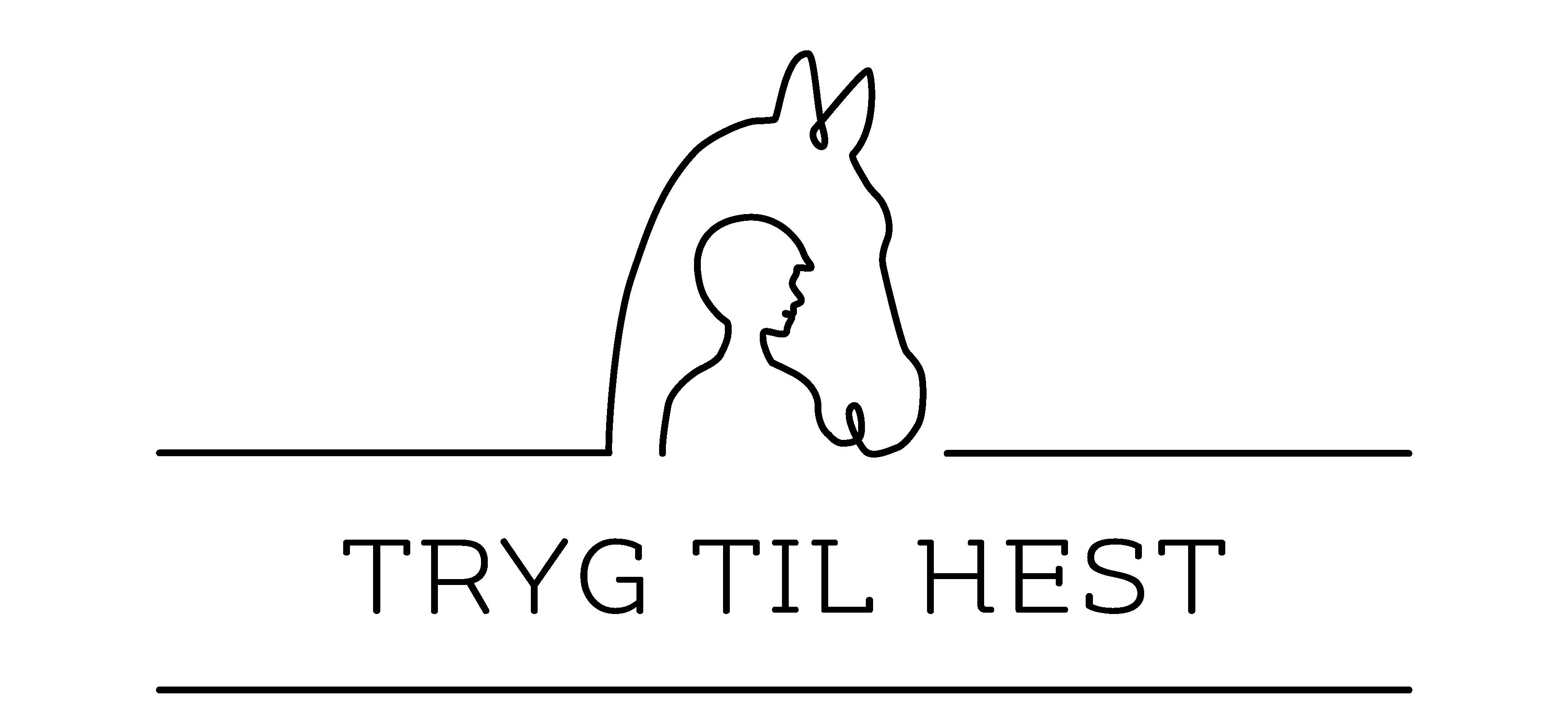 Tryg til hest logo