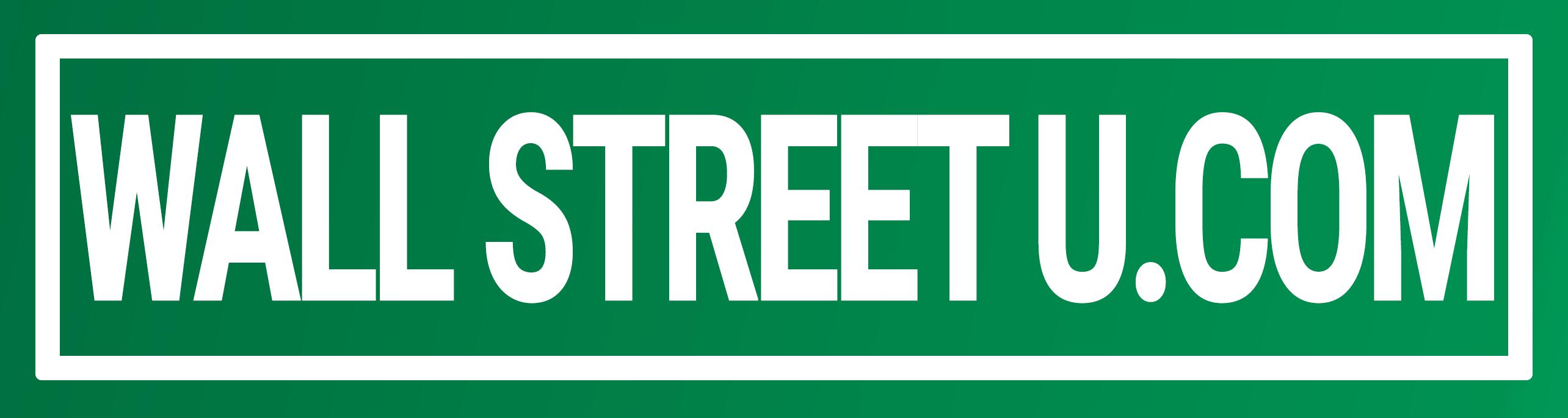 WallStreetU Educational Source For Trading Stocks, Options & Futures logo