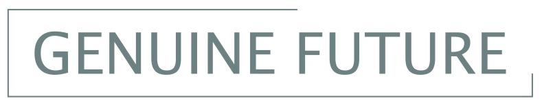Genuine Future logo