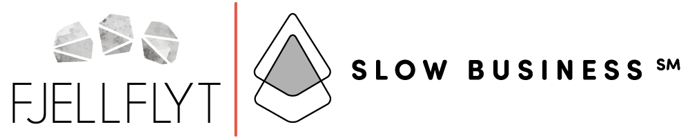 Fjellflyt AS | Slow Business logo