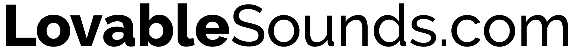 LovableSounds.com logo