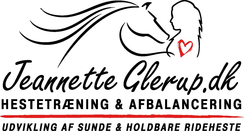 Onlinekurser - Sunde & Holdbare Rideheste v/Jeannette Glerup Skaarup logo