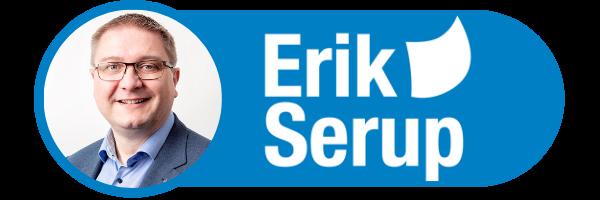 Erik Serup logo
