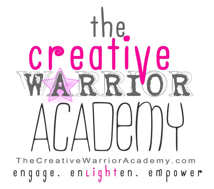 THE CREATIVE WARRIOR logo