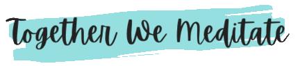 Together We Meditate logo
