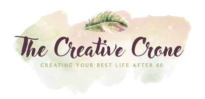 The Creative Crone - Women Creating Their Best Life After 60 logo