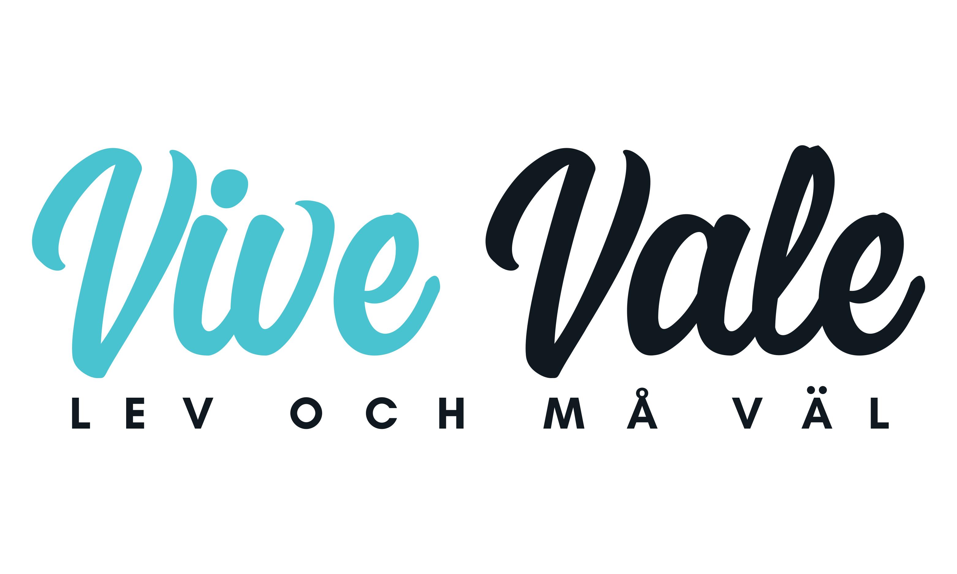 Vive Vale- Lev och Må Väl logo