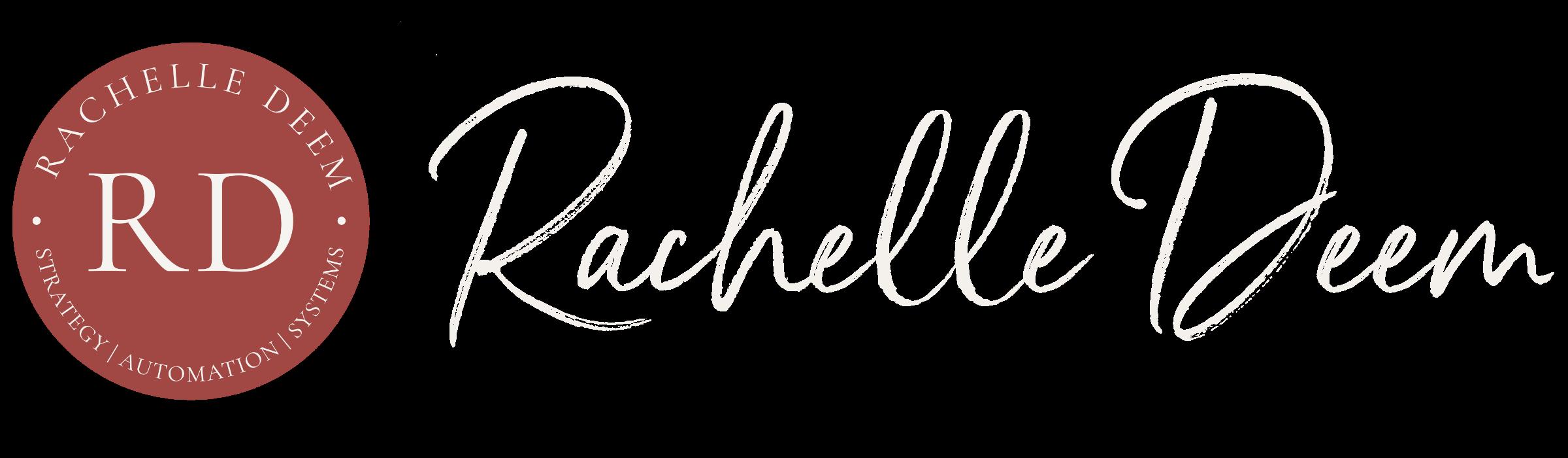 Rachelle Deem Coaching logo