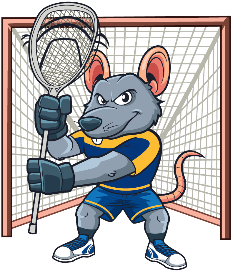 Lax Goalie Rat logo
