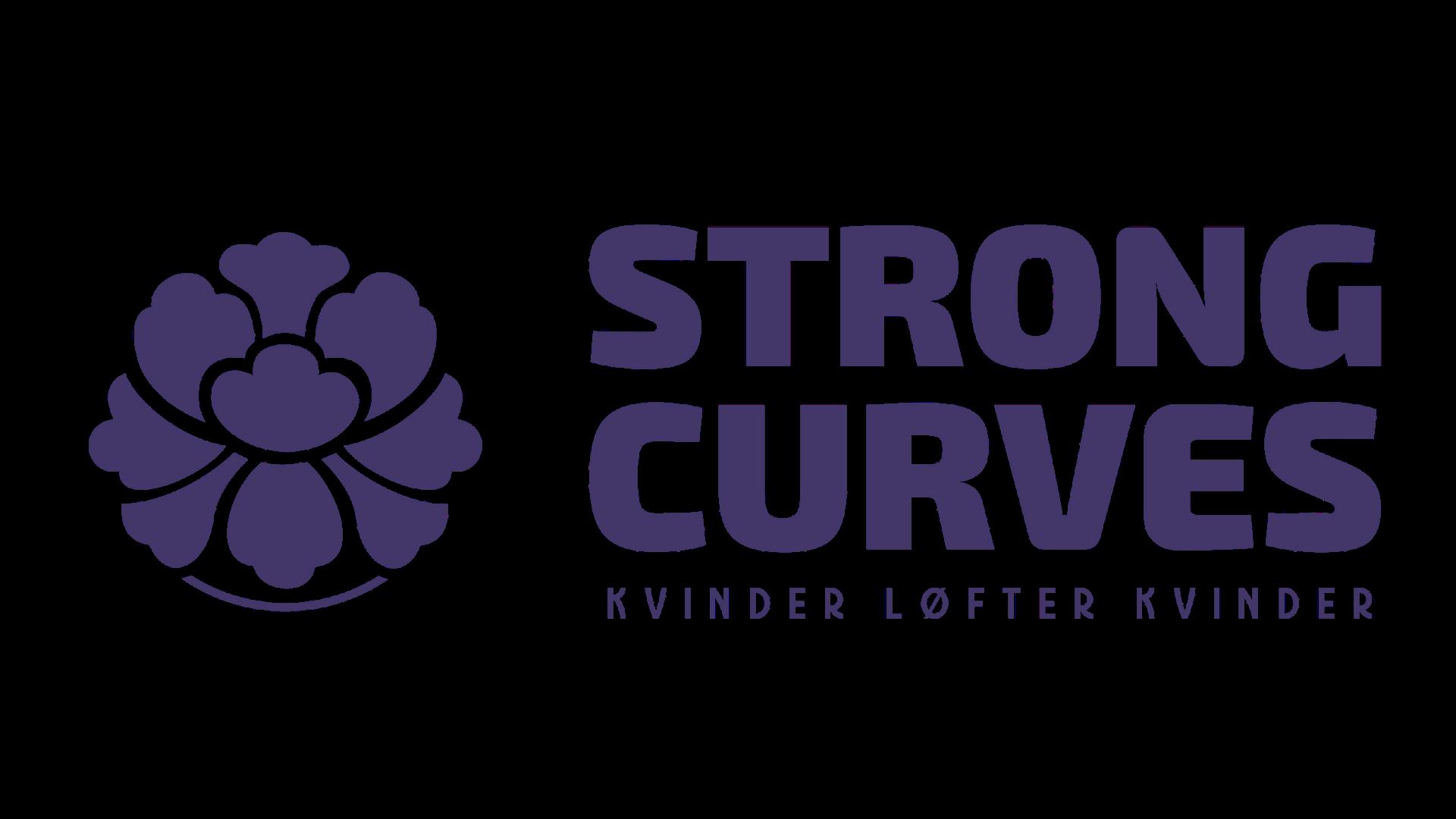 Kvinder løfter kvinder | Strong Curves logo