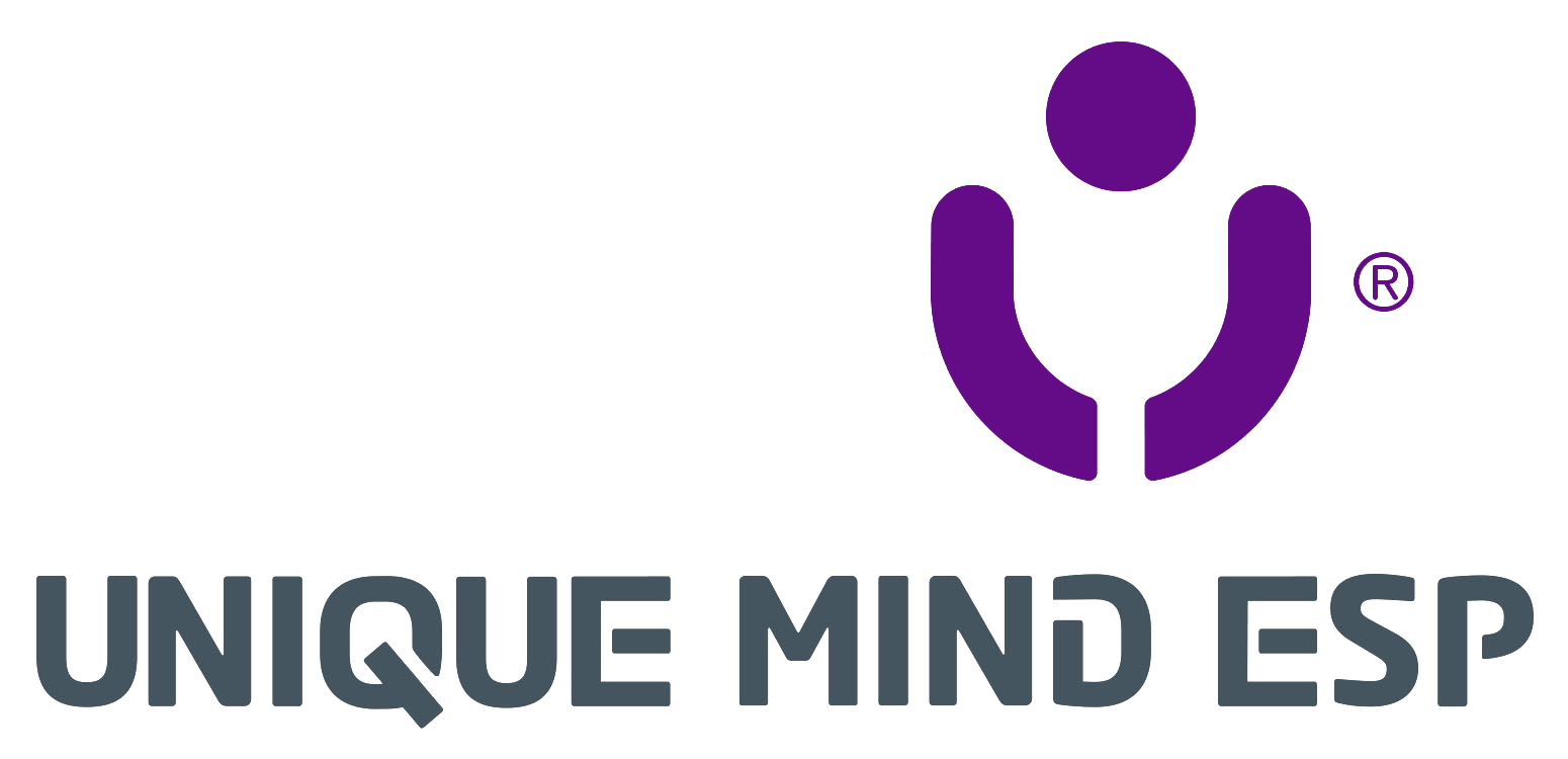 Unique Mind ESP – Nettportal logo