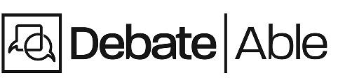 DebateAble Kids Debate Program logo